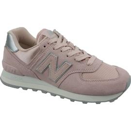 New Balance Uudet Balance-kengät mallissa WL574OPS pinkki
