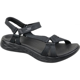 Musta Skechers On The Go 600 W 15316-BBK