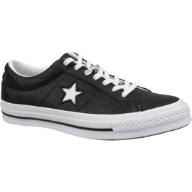 Converse kengät One Star Ox 163385C musta