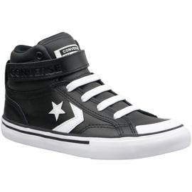 Musta Converse Pro Blaze Strap Hi Jr 663608C -kengät