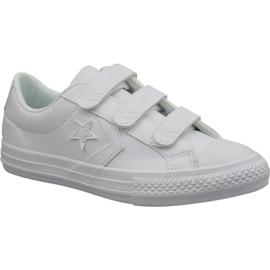 Valkoinen Converse Star Player Ev Ox Jr 651830C kengät