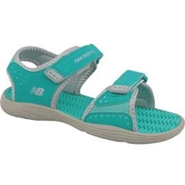 Vihreä New Balance Jr K2004GRG sandaalit siniset