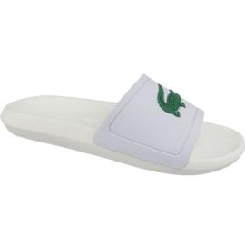 Valkoinen Lacoste Croco Slide 119 1 M tossut 737CMA0018082