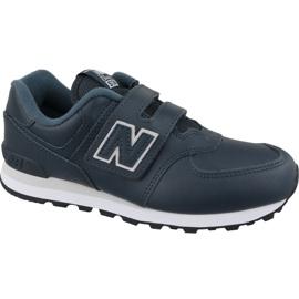 New Balance YV574ERV Jr kengät laivastonsiniset