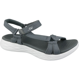 Sandaalit Skechers On The Go 600 15316-CHAR harmaa