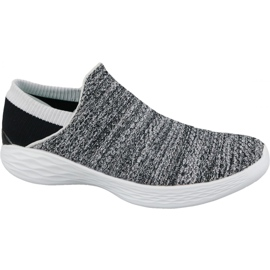 Skechers You W 14951-WBK kengät harmaa