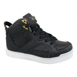 Musta Skechers E-Pro Street Quest Lights Jr 90615L-BLK kengät