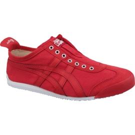 Asics Onitsuka Tiger Mexico 66 Slip-On M D3K0N-600 kengät punainen