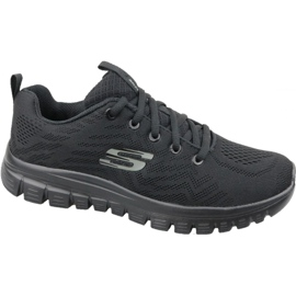 Skechers Graceful Get Connected W 12615-BBK -kengät musta