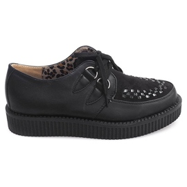 Boots Creepers on Platform 061ss musta