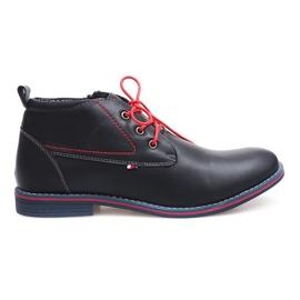 Laivasto Korkeasti eristetyt sidotut kengät 86105 Navy