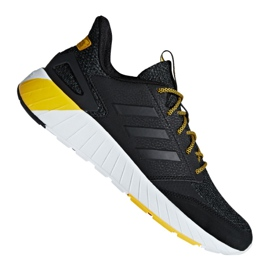Musta Adidas Questarstrike M G25770 kengät