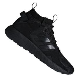 Musta Adidas Questarstrike Mid M G25774 kengät
