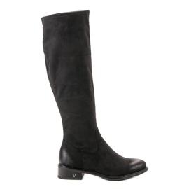 Musta Suede Boots VINCEZA