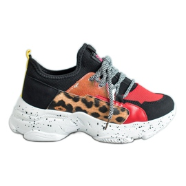 SHELOVET Leopard tulosta urheilujalkineet