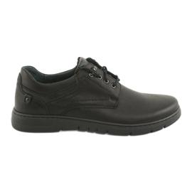 Riko 902 miesten sidotut kengät musta