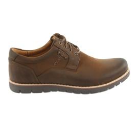 Lace-up kengät Riko 761 ruskea