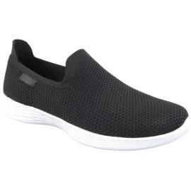 Musta Määrittämäsi Skechers W 14956-BKW -kengät