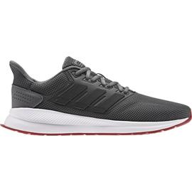 Harmaa Adidas Runfalcon M EE8153 juoksukengät