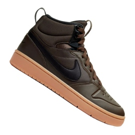 Nike Court Borough Mid 2 Boot (GS) Jr BQ5440-200 kengät musta