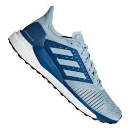 Harmaa Adidas Solar Glide St M D97074 kengät