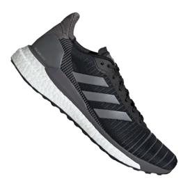 Musta Adidas Solar Glide 19 M G28463 kengät
