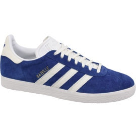 Sininen Adidas Originals Gazelle B41648 kengät