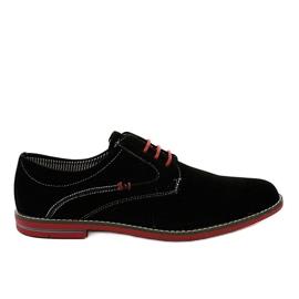 Mustat tyylikkäät kengät 6-688