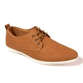 Ruskea Tyylikkäät kengät -82 kameli