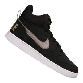 Musta Nike Court Borough Mid M 838938-005 kengät