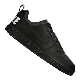 Musta Nike Court Borough Low Se M 916760-002 kengät