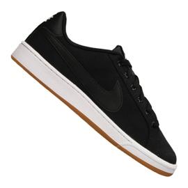 Musta Nike Court Royale Canvas M AA2156-001 kengät