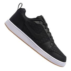 Musta Nike Court Borough Low Se M 916760-003 kengät
