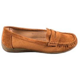 Sixth Sense Suede loafers ruskea