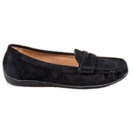 Sixth Sense Suede loafers musta