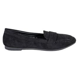 Cm Paris Suede loafers musta