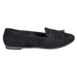 Nio Nio Suede loafers musta