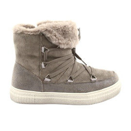 American Club Taupe Eskimo -saappaat ruskea