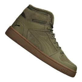 Vihreä Puma Rebound LayUp Sd Fur M 369831-03 kengät