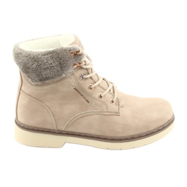 American Club Lace-up kengät RH47 beige ruskea