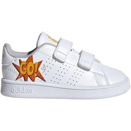 Adidas Advantage I Jr EF0305 kengät valkoinen
