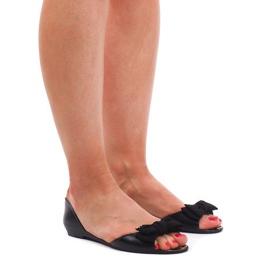 Meliski KM01 mustat sandaalit