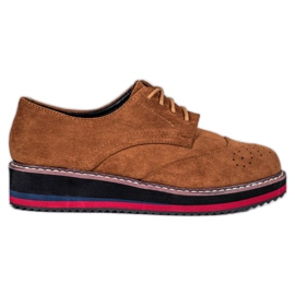 Vices Kamelin kengät ruskea