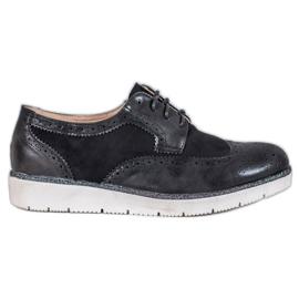 Vices Mokkanahka kengät musta