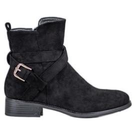 Filippo Suede Boots musta