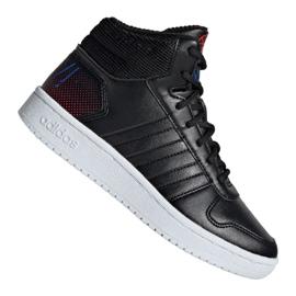 Adidas Hoops Mid 2.0 Jr EE8547 kengät musta