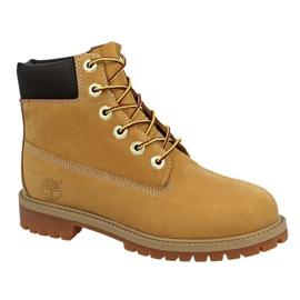Timberland 6 Premium Wp Boot Jr 12909 -kengät keltainen