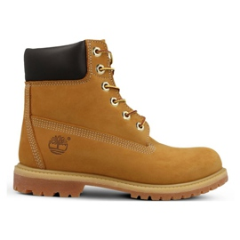 Timberland Premium 6 tuuman Jr 10361 kengät keltainen