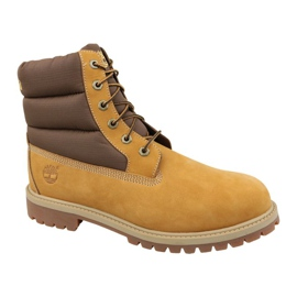 Timberland 6 Quilit Boot Jr C1790R talvisaappaat ruskea