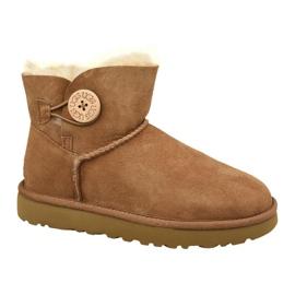 Ugg Mini Bailey Button Ii W 1016422-CHE kengät ruskea